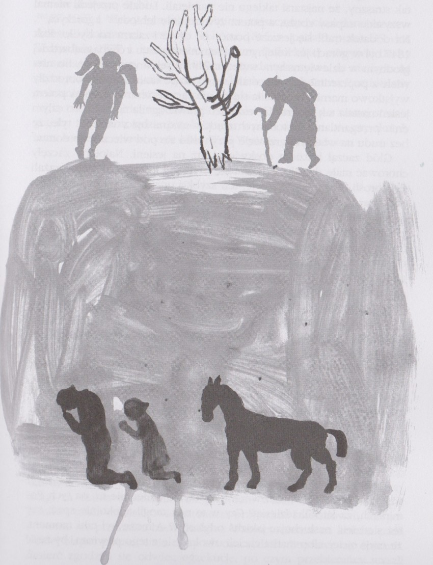 Agnieszka Dziama, illustrazioni per il racconto Pomirki di Andrzej Potocki, ed Carpathia