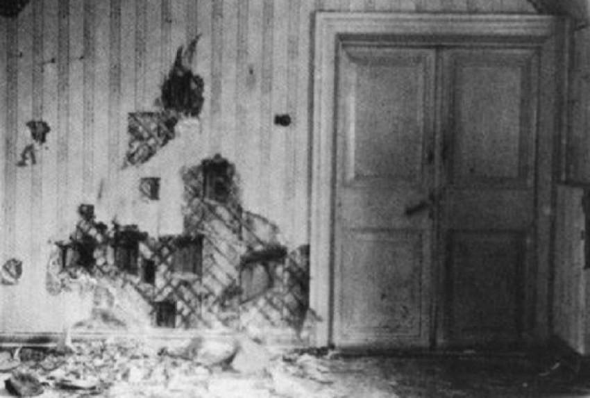 cantina in cui avvenne l'esecuzione dei romanov, Yekaterinburg,1918