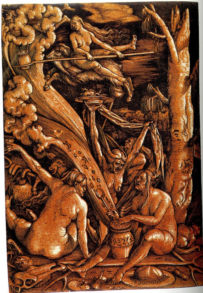 Hans Baldung, witches-sabbath, 1510