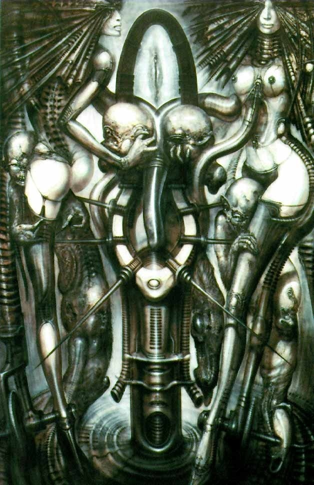 giger, witches' dance, 1977