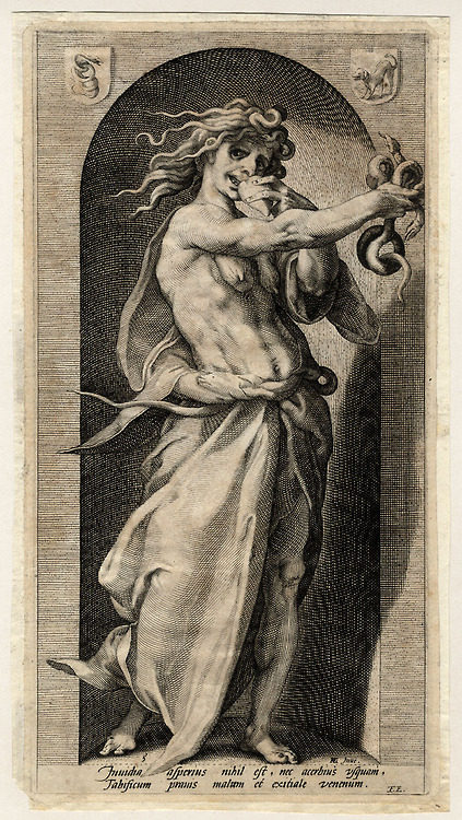 jacob Matham Envy, c.1600