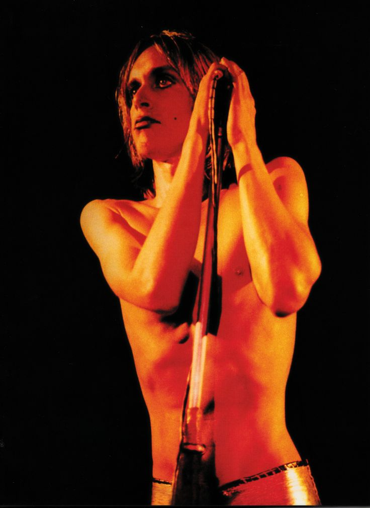 Mick Rock, Iggy Pop