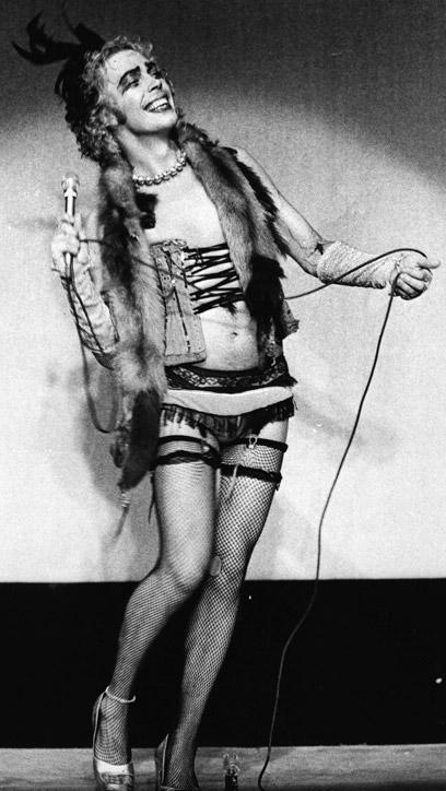 Frank biondo a teatro nel 1973