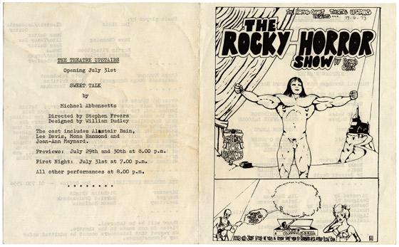 Rocky_Horror_London_programme