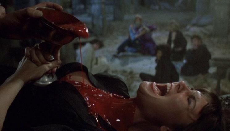 Caroline-Munro, Dracula A.D. 1972 (dir by Alan Gibson)