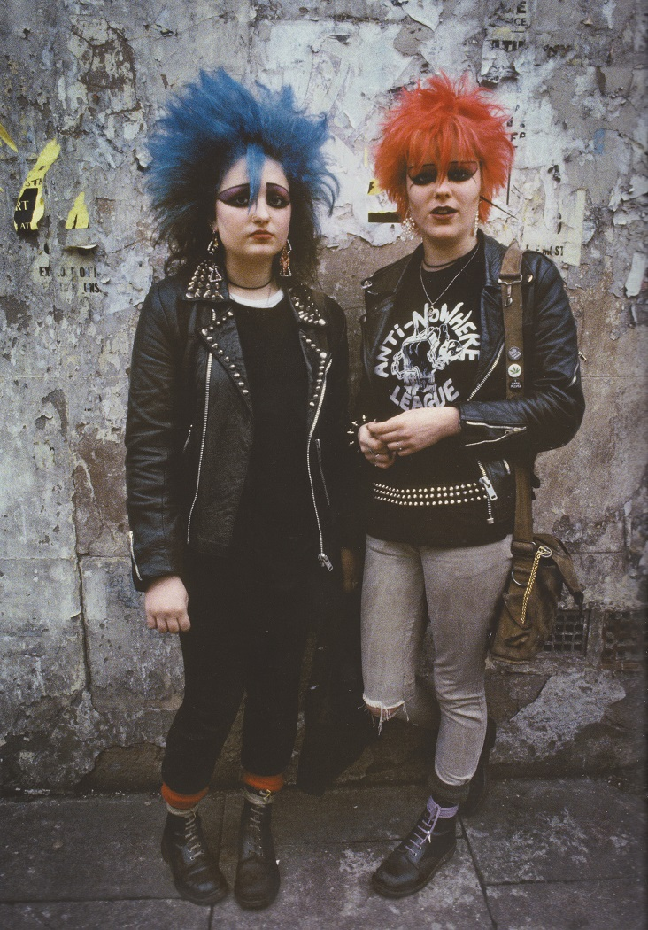 Derek Ridgers' London Youth, Soho girls, 1982