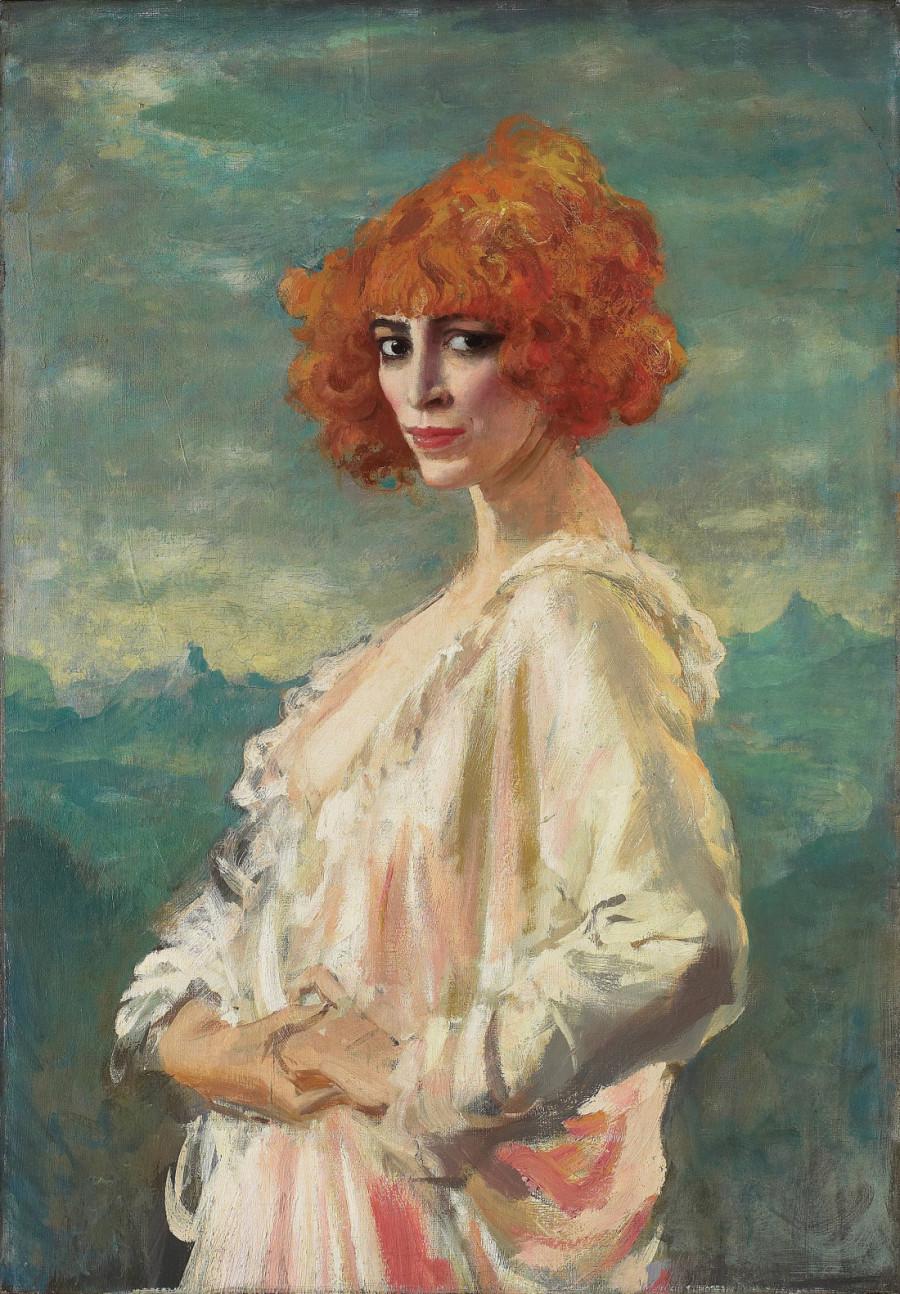 Augustus Edwin John: La Marchesa Casati, 1919