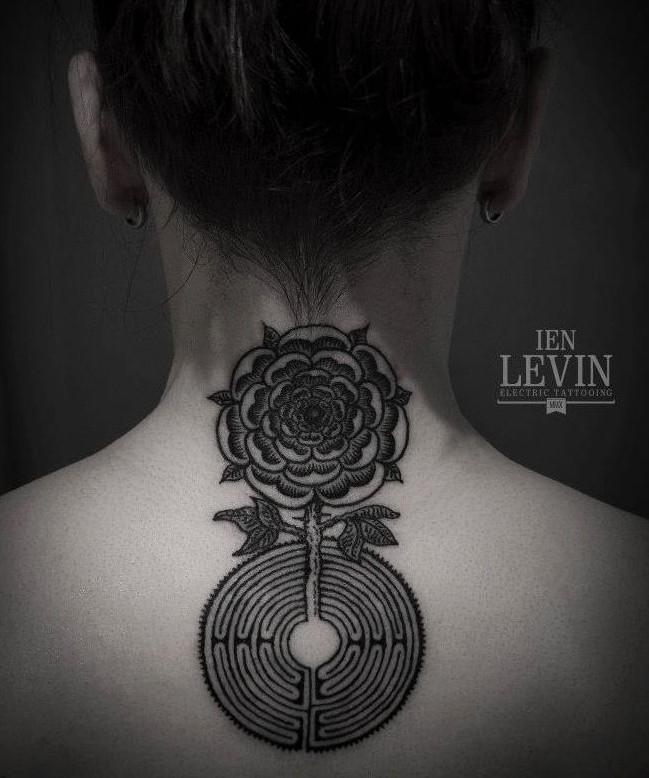 Ien Levin labirinto