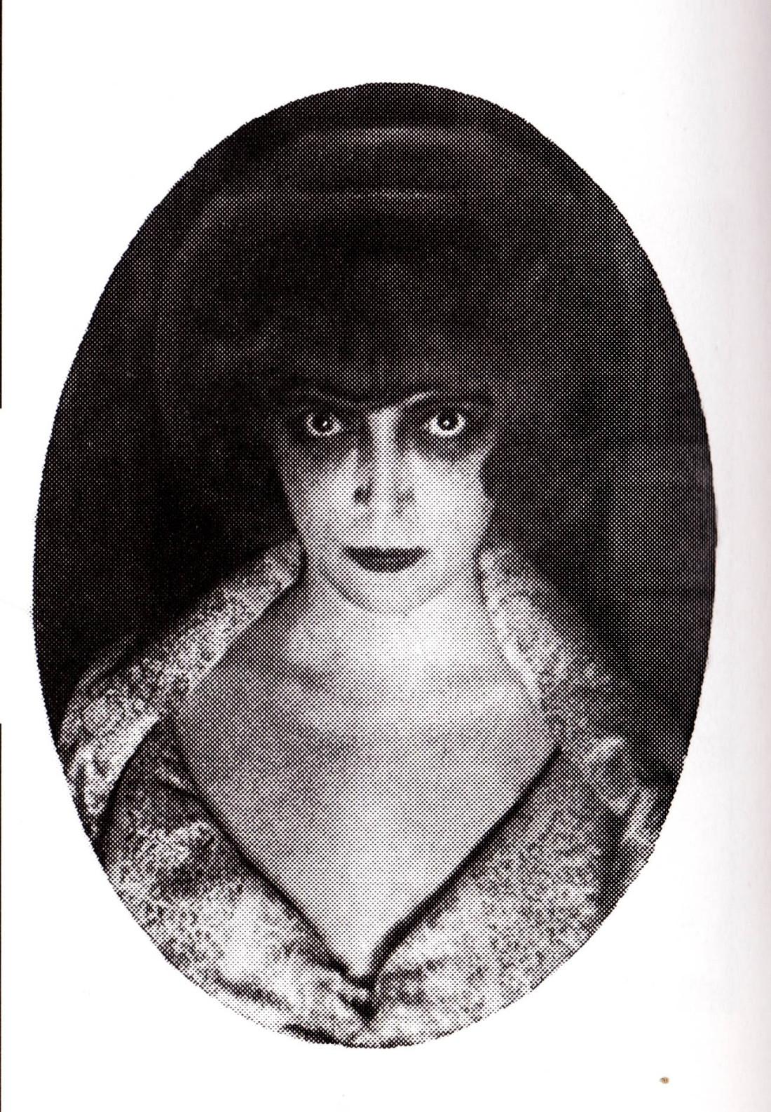 Man Ray, Luisa Casati, 1922