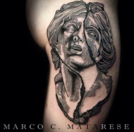 Marco Matarese Volto femminile