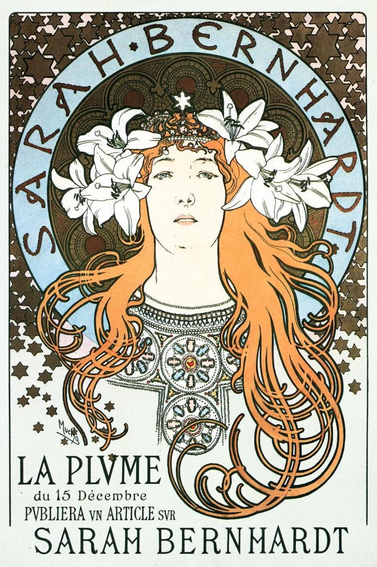 Sarah Bernhardt, Alfons Mucha