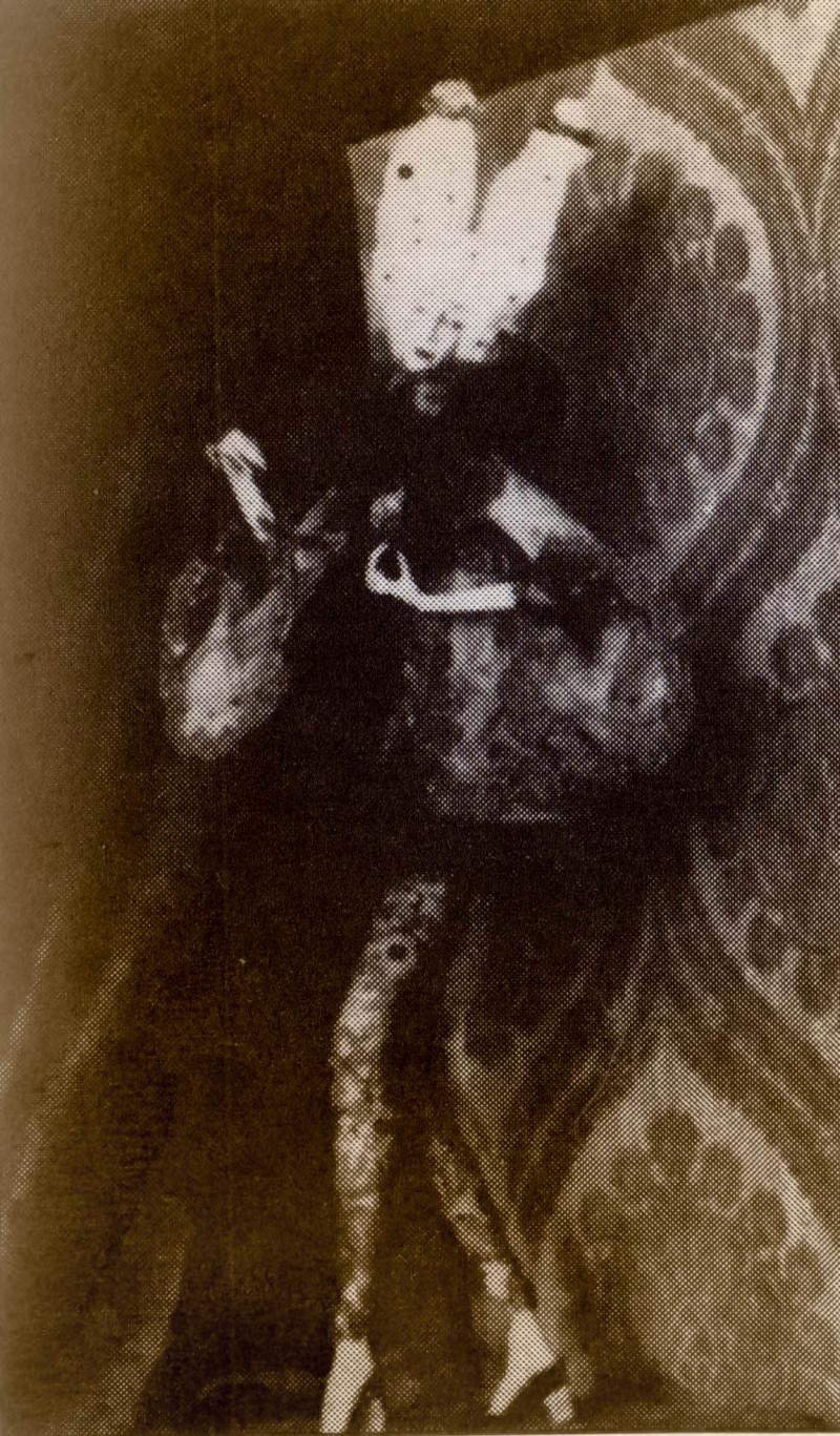 Statua di cera di Luisa Casati ad opera di Catherine Barjanski, 1914