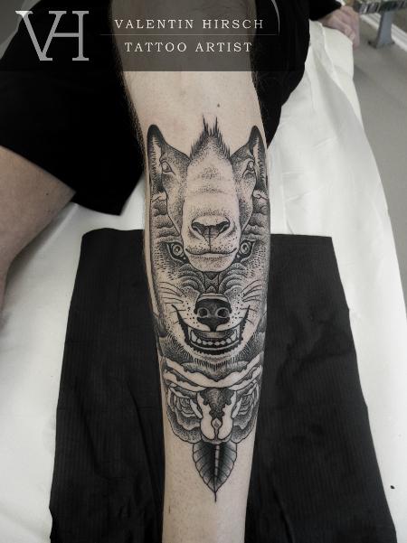 Valentin Hirsch totem wolfsheepweb