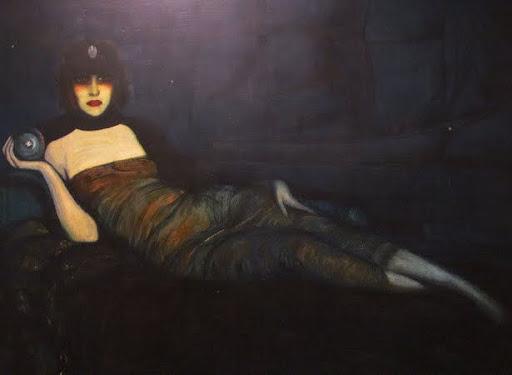 Federico Beltran Y Masses, La Marchesa Casati, 1920