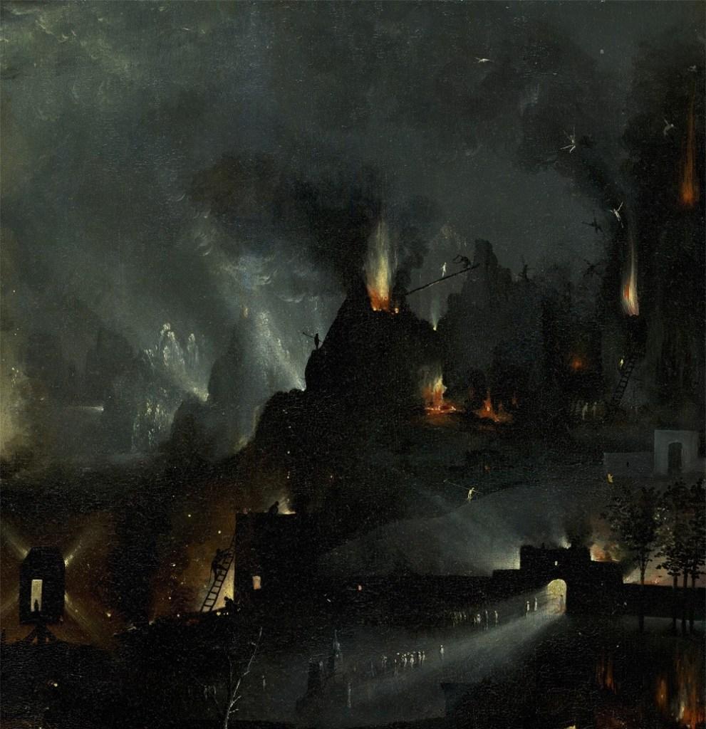 bosch, inferno musicale, 1503 ca
