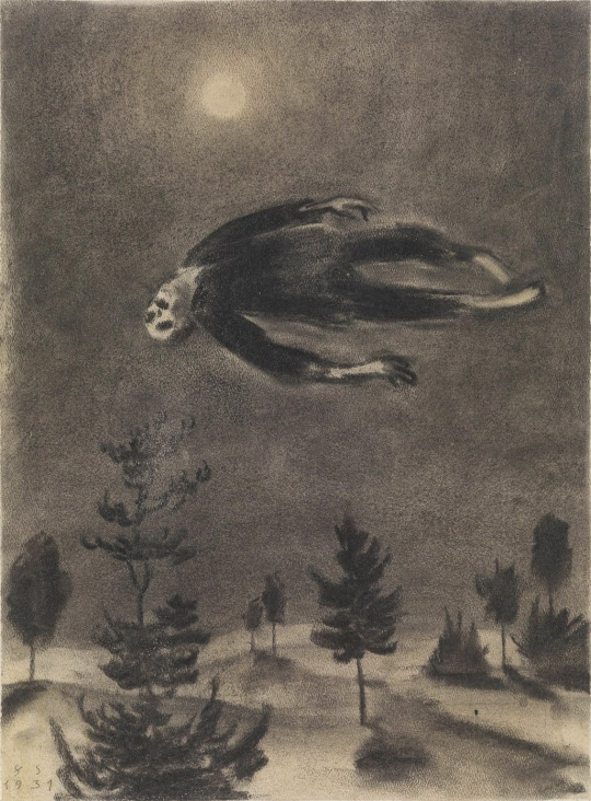 Franz Sedlacek - Ghost over the Trees. N.d.