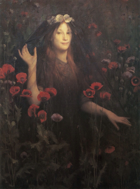 Thomas Cooper Gotch death the bride, 1894