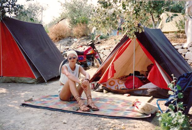 christiane f grecia, 1987