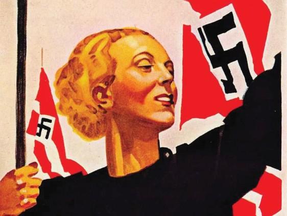 poster propaganda nazista