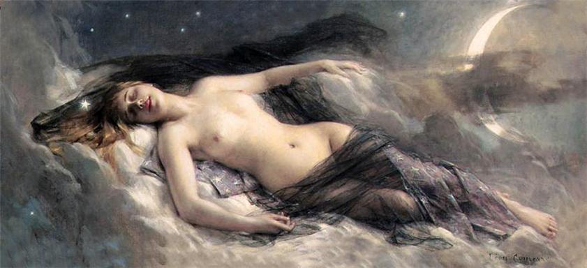 «Luna» de François-Léon Benouville