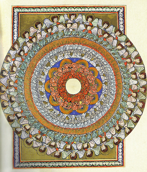 Hildegard von Bingen, Visions of the angelic hirarchy