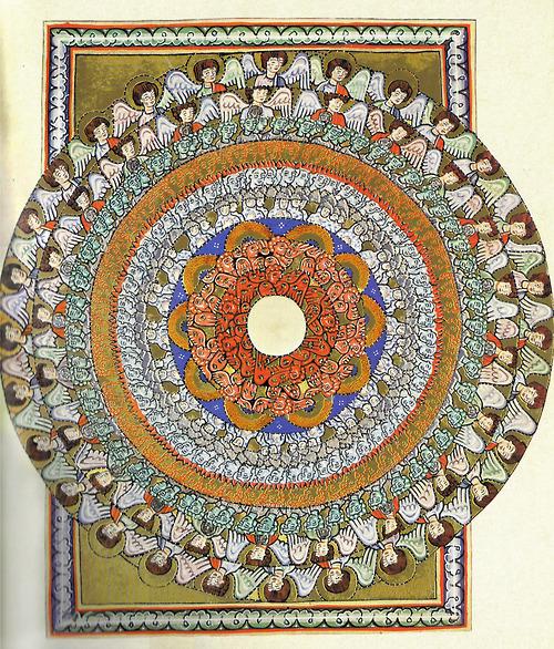 Hildegard von Bingen, Visions of the angelic hirarchy