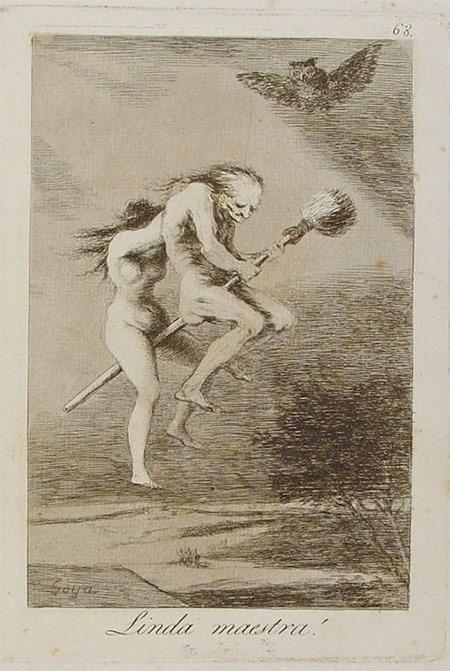 Linda maestra!, by Goya