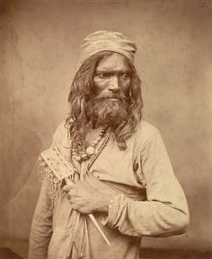 Religious Ascetics, Muslim Ascetic, Sufi Dervish, Ascetic Fakir, Minimal Dervish, 1860 S Sufi