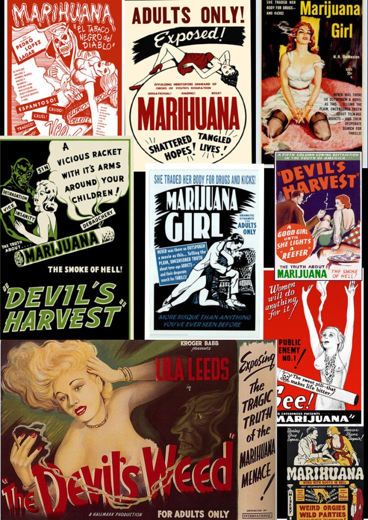 propaganda anti marijuana