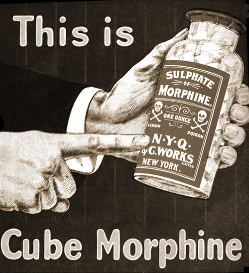 this is cube morphine, morfina