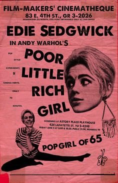edie sedgwick poor little rich girl