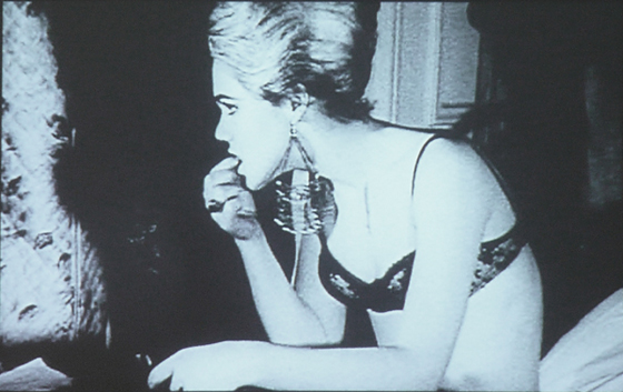 Edie Sedgwick in Andy Warhol's Poor Little Rich Girl 1965