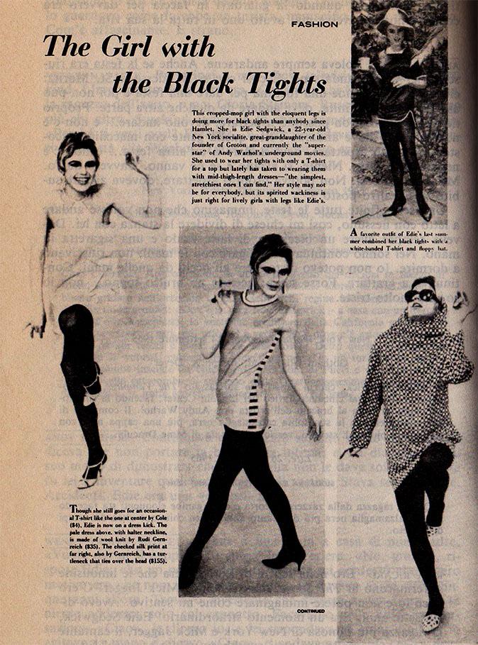 edie su life, novembre 1965