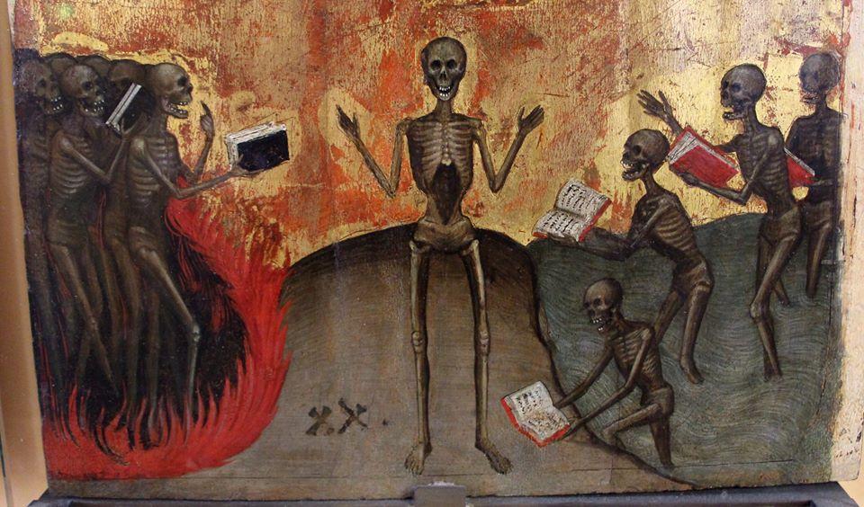 Jacobello Alberegno , altare dell'apocalisse, 1360-90