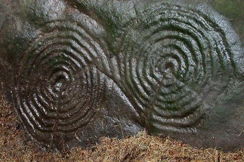 neolithic petroglif northumberland