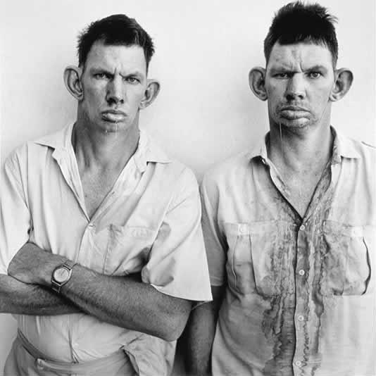 Roger Ballen Dresie-and-Casie-twins-Western-Transvaal-1993