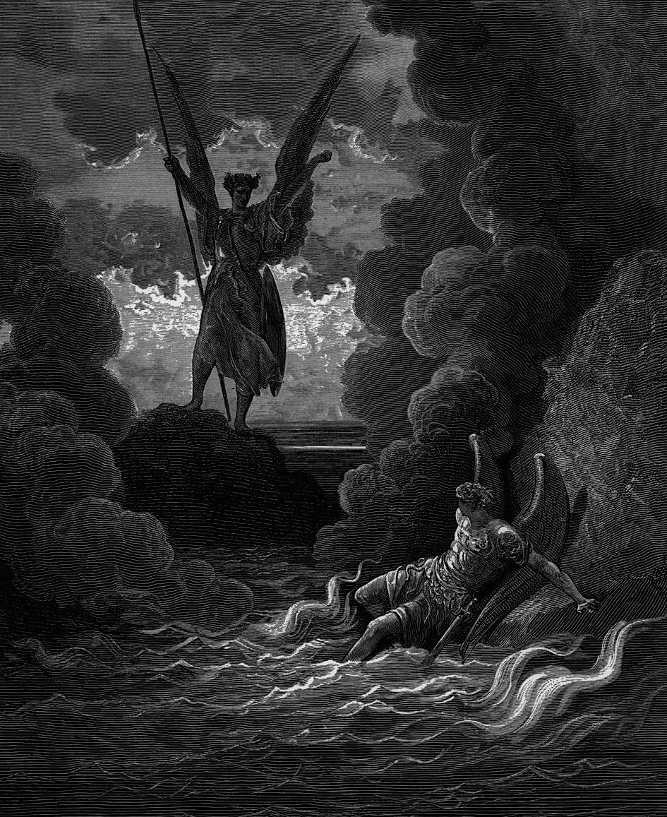 dorè paradiso perduto 1866