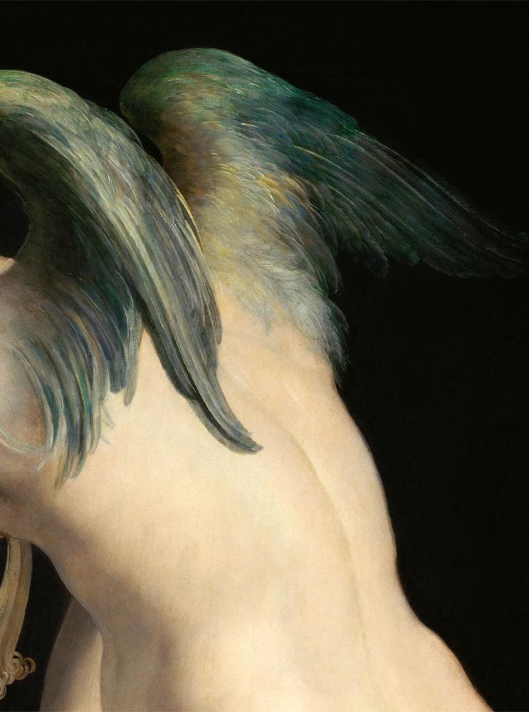 parmigianino cupido che fa il suo arco 1533 35