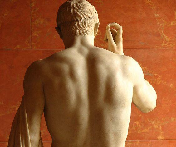 Marcellus as Hermes, 1st cent. BC, Louvre, Paris.