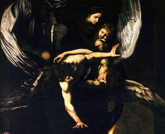 caravaggio sette opere misericordia det