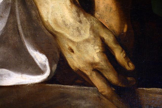 Caravaggio deposizione dett