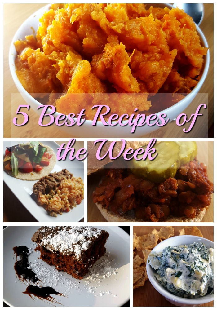 recipes of the week