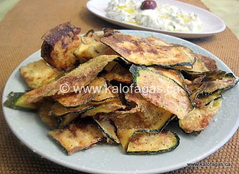 Deep Fried Zucchini (Κολοκυθάκια τηγανητά)