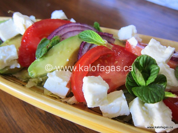 Avocado, Tomato & Feta Salad