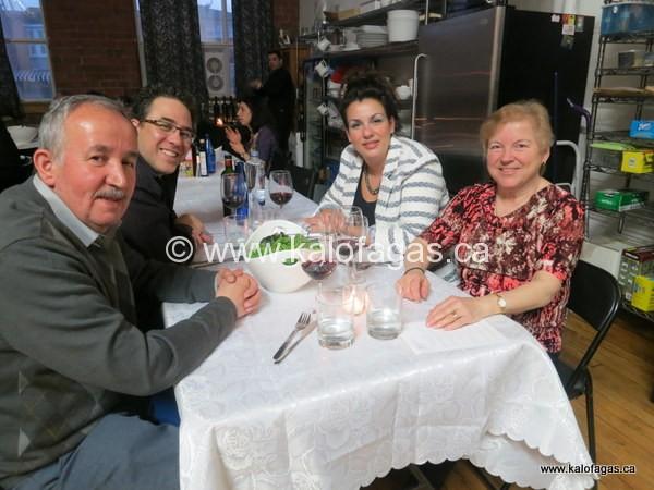 Greek Lenten Dinner, Recap