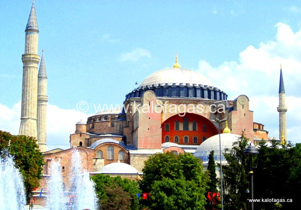 Agia Sophia, Constantinople