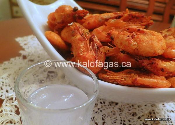 Symi Style Salt and Pepper Shrimp