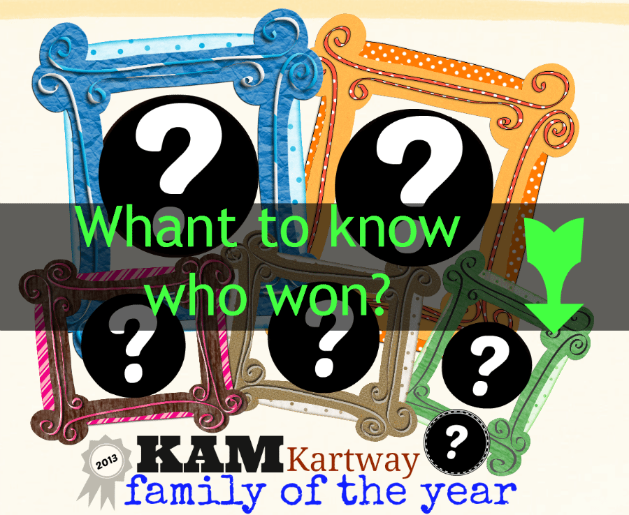 want to know who won KAM Family of the year?