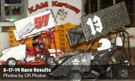 KAM Kartway Race Results 5-17-14