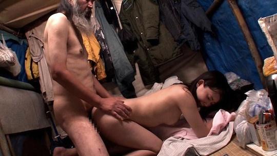 homeless old women fucking men